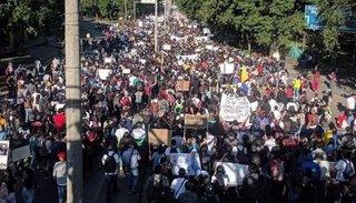 Incidentes durante el paro nacional en Colombia en rechazo a las políticas de Iván Duque