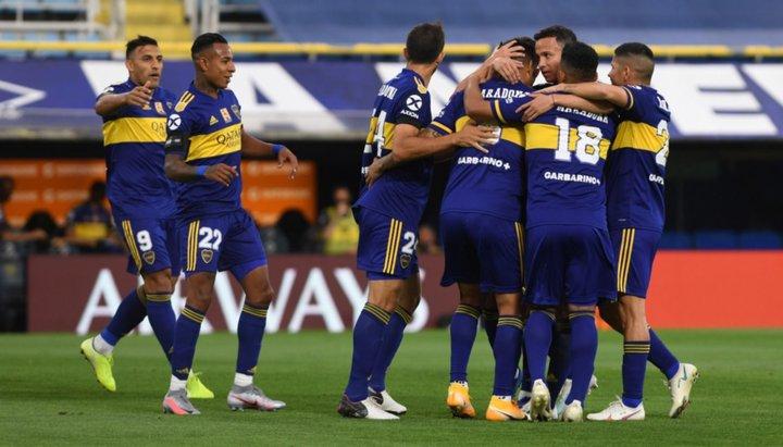 Boca venció a Newell's, en la Bombonera, y con Dalma emocionada en el palco de Diego