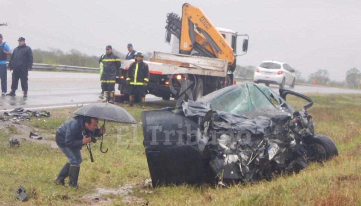 Tres muertos y un herido en un choque en Río Piedras, en la ruta 34