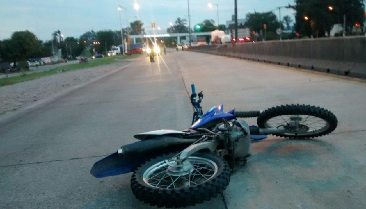 Un joven motociclista  falleció en el acceso a Metán