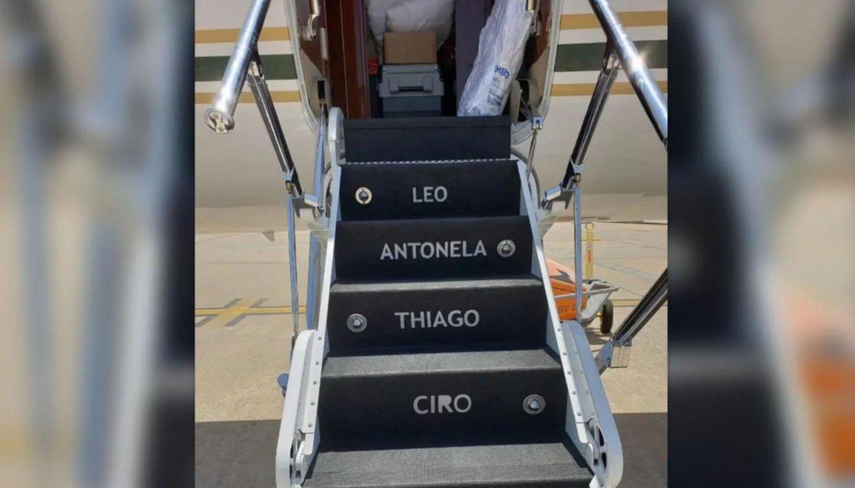 (FOTO) Un avión privado, la última adquisición lujosa de Messi