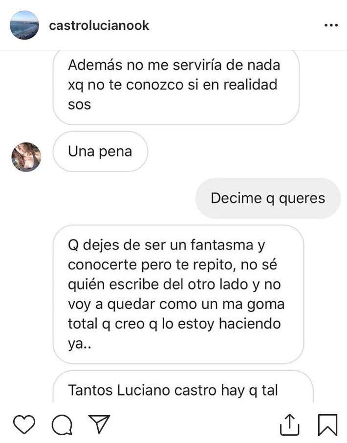 Tras el escándalo, Sabrina Rojas denunció que la hackearon