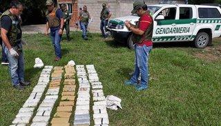 Descubren el principal centro de acopio de cocaína y marihuana