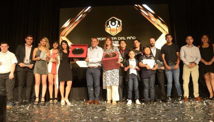 Luciano Benavides ganó el premio al mejor deportista del año