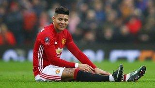 Marcos Rojo fue declarado transferible por el Manchester United